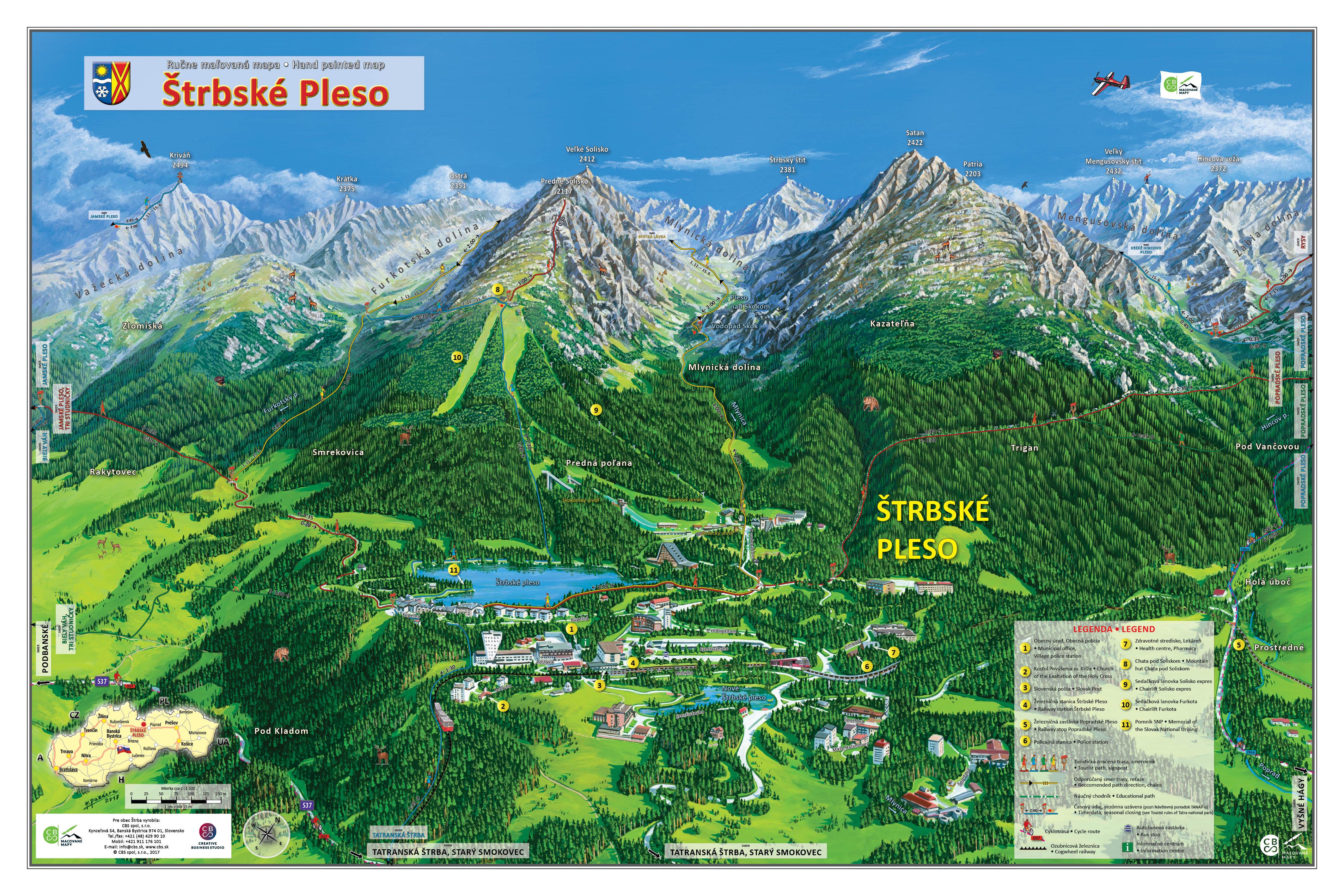 Turistika Strbske Pleso